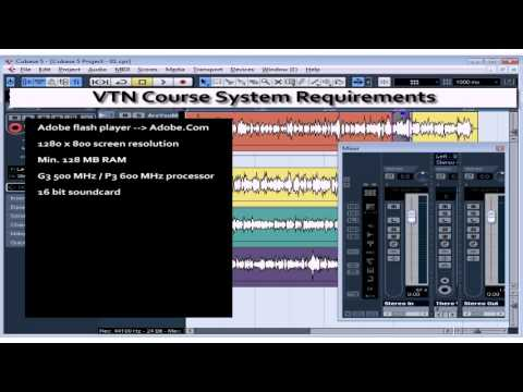 Cubase 5 Tutorial – Lesson 01: Intro