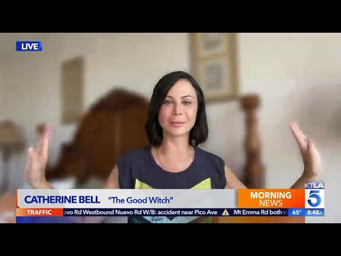 """Catherine Bell Spills on the cast & kissing happening on """"Good Witch"""""""
