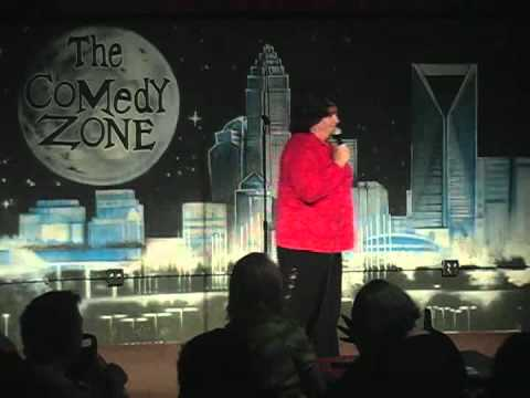 Cheri McCarthy on 3-19-12 at Graduation Night of The Comedy Zone Comedy School