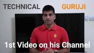 Video First Video of Technical Guruji MP3, 3GP, MP4, WEBM, AVI, FLV November 2017