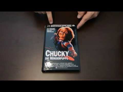 CHUCKY - Die Mörderpuppe Cover A Große Hartbox 84 Entertainment Unboxing / Review