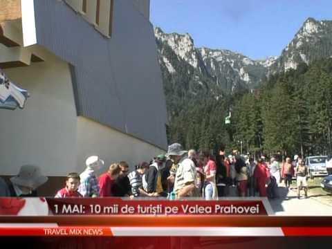 1 MAI: 10 mii de turisti pe Valea Prahovei