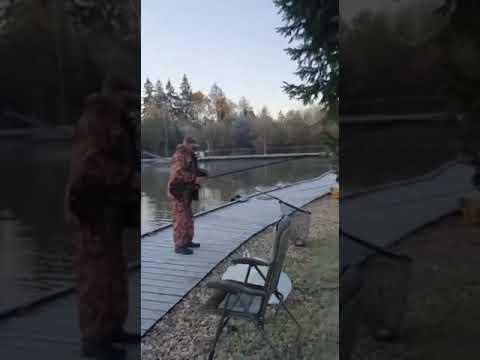 Видеоотчет о рыбалке за 9 октября 2021 г.