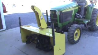 5. John Deere 59 Snow Blower Attachment For A 4100 4200 4300 4400 For Sale Mark Supply Co