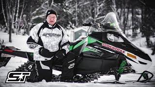 6. SnowTrax Test Rides Arctic Cat F8 EXT