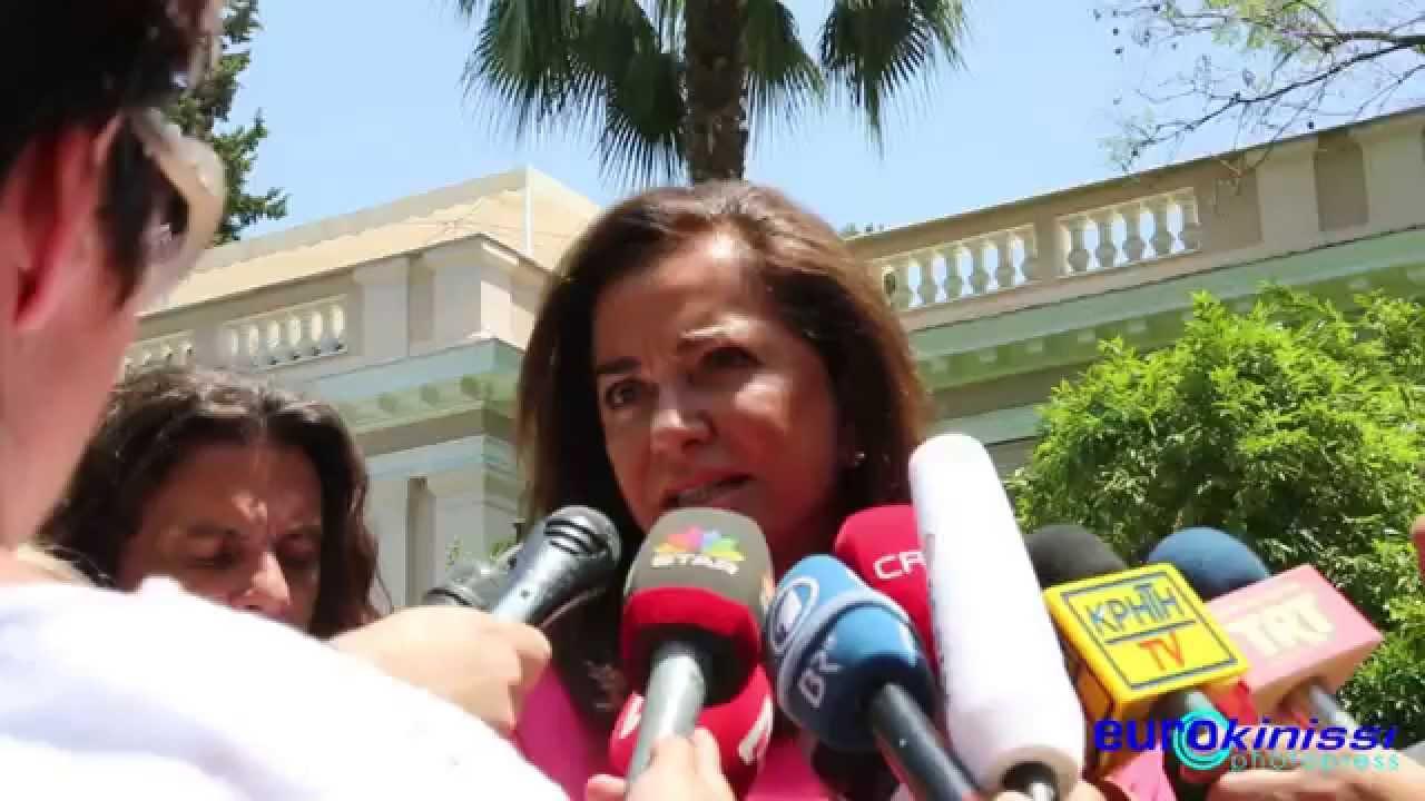 Δήλωση της Ντ. Μπακογιάννη μετά τη συνάντησή της με τον Πρωθυπουργό