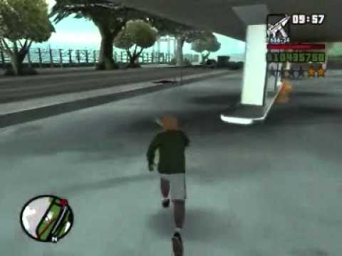 GTA San Andreas Fun: Cops killing cops