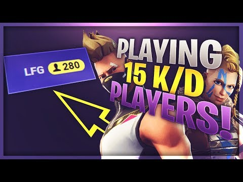 "1v1 VS Players On FortniteTracker, New ""Let's Find Group!"" (Fortnite)"