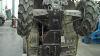 5. How to fit a snow plow to a  Polaris 4 Wheeler