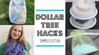 DOLLAR TREE HACKS!    Summer Edition