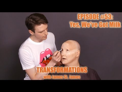 milk - It's milking' time on Transformations! RuPaul's Drag Race season 6 glamazon, Milk, transforms James St. James on this episode of Transformations! Enjoy the v...