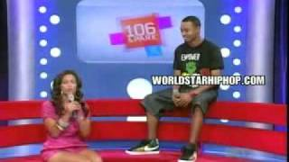 Rocsi Walks off Stage Original taping - YouTube