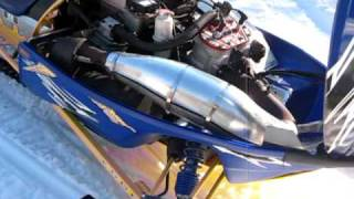 8. Polaris XC SP Edge X 800 Snowmobile