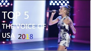 Video Top 5 best auditions The voice USA 2018 MP3, 3GP, MP4, WEBM, AVI, FLV September 2018