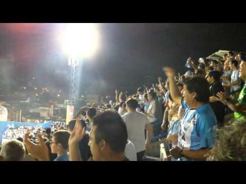 Hinchada de Atlético gritando el primer gol - La Inimitable - Atlético Tucumán