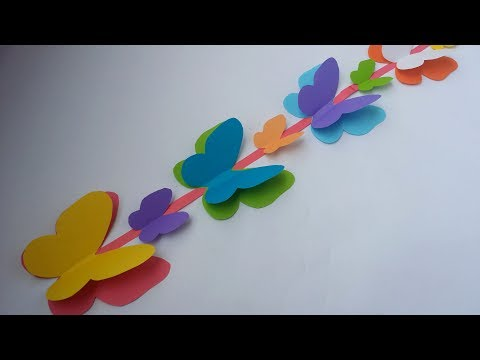 DIY: Paper Flower Stick!!! How to Make Paper Flower Stick With ...