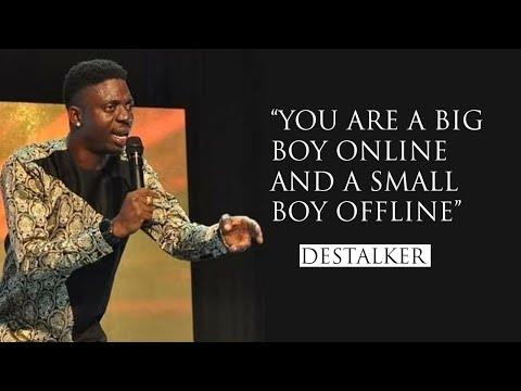 Best of Destalker comedian at Destalker laughter crusade part 2