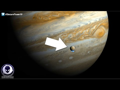 Aliens Inside Jupiter's Moon Europa? NASA's Secret Announcement! 9/22/16