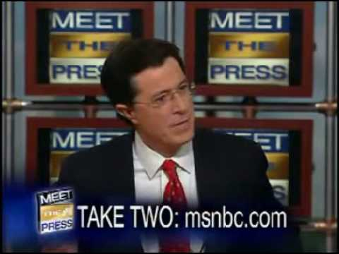 The Real Stephen Colbert (Out of Character)
