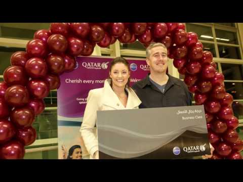 Surprise Business Class Upgrades for Qatar Airways Passengers in Adelaide