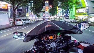 8. SUZUKI Hayabusa GSX1300R, Shibuya, GoPro 4 Black, éš¼