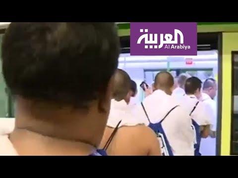 العرب اليوم - قطار المشاعر المقدسة ينقل الحجاج إلى جميع المناسك