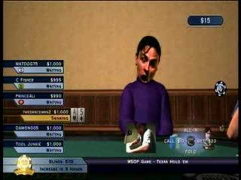 World Series of Poker : Tournament of Champions 2007 Edition Xbox 360