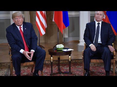 Russland und die Vereinigten Staaten konkurrieren auf ...