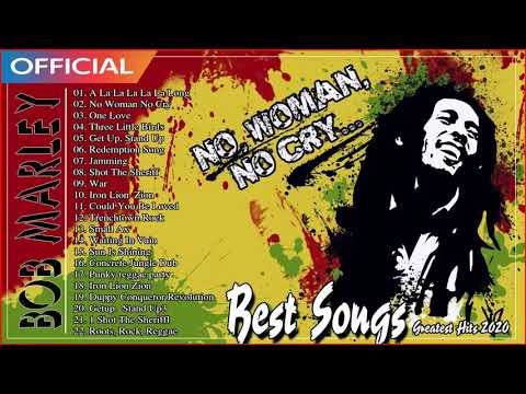 Bob Marley Greatest Hits Full Album _ Bob Marley Nonstop Playlist 2020