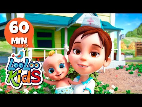 The Farmer in the Dell - Learn English with Songs for Children | LooLoo Kids