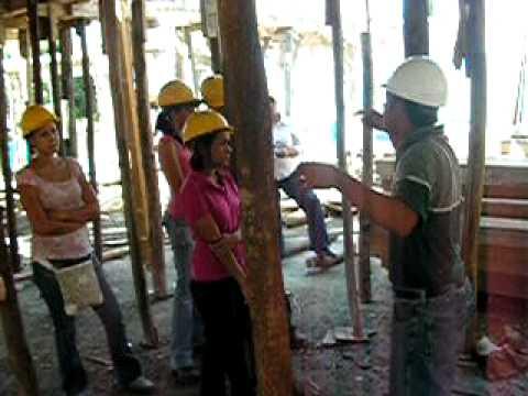 VIDEO Practica encofrado de madera PROM. No.2 CURSO TALLER MAESTRO CONSTRUCTOR (parte 1)