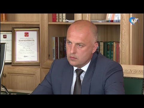 Губернатор Андрей Никитин провел рабочую встречу с главой Демянского района Владимиром Ереминым
