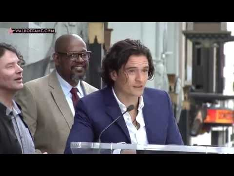 Orlando Bloom Walk of Fame Ceremony