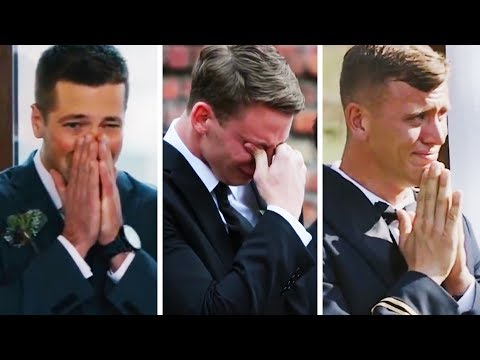 Download Emotional Grooms Cry When They See Their Lovely Brides