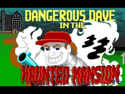 Dangerous Dave (1991) DOS / EGA,с Майкером
