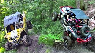 4. Yamaha YXZ Redemption Ride - RZR XP 1000 vs YXZ 1000 - UTV Trail Riding