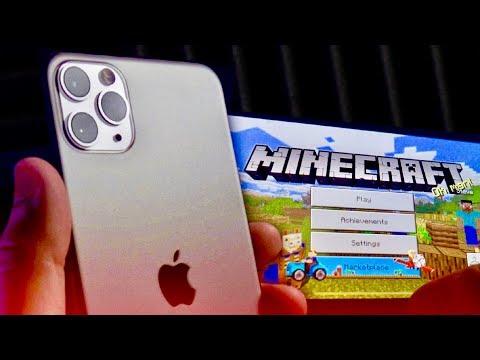 Minecraft on iPhone 11 Pro Max tastes good.