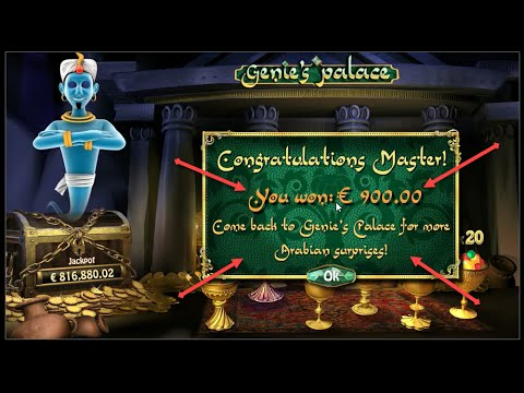 Millionaire Genie Big win from BONUS!