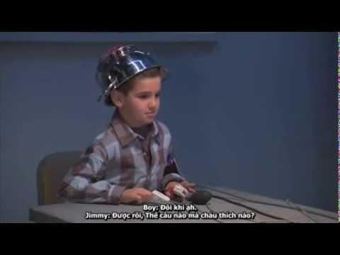"""Chết cười màn dùng máy phát hiện nói dối """"thẩm tra"""" cậu bé 7 tuổi"""