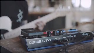 Boss GT-1 Effects Processor Video