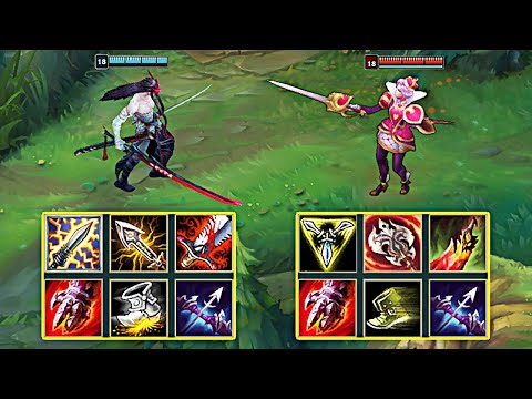YONE vs FIORA FULL BUILD FIGHTS & Best Moments!