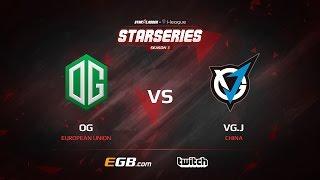 OG vs VG.J, Game 2, Semi-Final, SL i-League StarSeries Season 3, LAN-Final