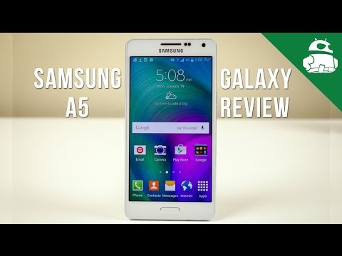 samsung - Samsung's packing its latest metallic design language and a 64 bit processor in the Galaxy A5. Check out our full review! Talk about Android in our forums: h...