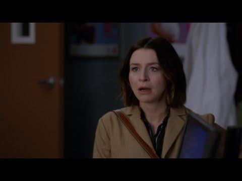 Amelia Shepherd Realizes She's Pregnant - Grey's Anatomy