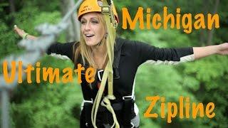 Boyne Falls (MI) United States  City pictures : Ultimate Zipline - Wildwood Rush (Boyne City, MI)