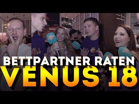 Anzahl der Bettpartner raten mit KuchenTV -  VENUS 2018