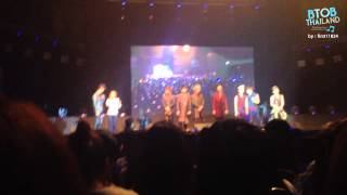 BTOB Year End Party In Thailand - Ending Ment First Part Of Thriller