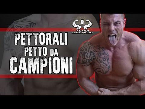 COME ALLENARE I PETTORALI per un PETTO DA CAMPIONE - Team Commando
