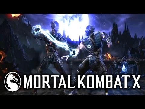Mortal Kombat X: TRIBORG - Character Breakdown! (MKX Gameplay Sektor, Cyrax, Smoke)
