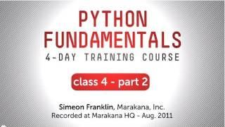 Python Fundamentals Training - Tools